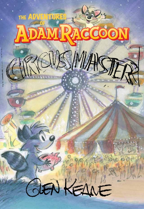 AdamRaccoon CircusMaster CoverComp7