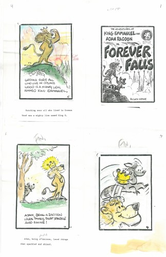"""""""The first 3 books were to be part of a 5 part series. The first series was """"starting with Jesus"""" and presented salvation, obedience and repentance as the main themes."""" – Glen Keane"""